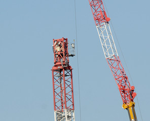 crane dismantled