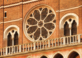 Italy, Padua: Saint Anthony basilica detail