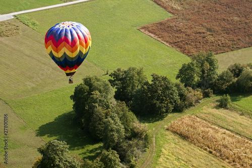 Deurstickers Ballon Hot air balloon