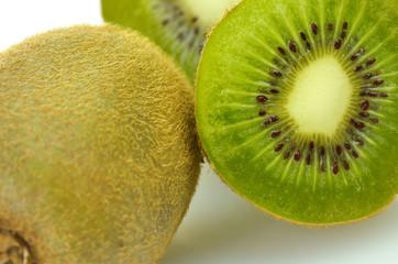 kiwi fruits close up