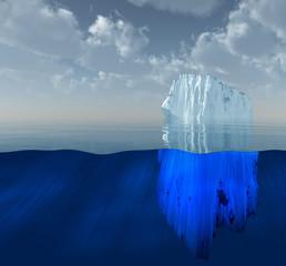 High Resolution 3D Iceberg