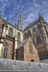 Church of Haarlem, Holland