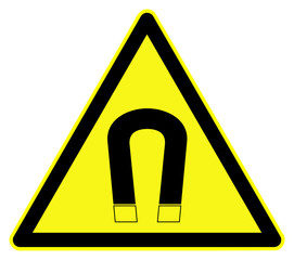 Magnetic Hazard symbol