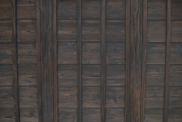 traditional wall of Japanese-style house