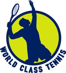 'World class tennis' logo