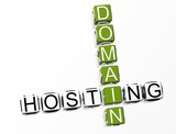 Domain Hosting Crossword poster
