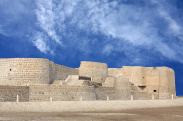 Northern side of Bahrain fort