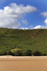 Three Cliffs Bay Caravan and camping site