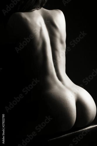 Fototapeten,verlockend,ass,attraktiv,rücken