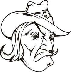 Sheriff.Mascot Templates.