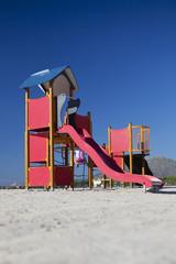 Spielplatz im Sand