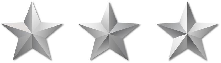 metal reflect militar stars