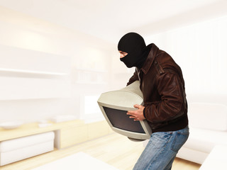thief in house