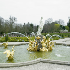 palace garden, Paleis Het Loo Castle near Apeldoorn, Netherlands