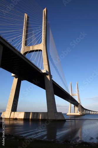Ponte Vasco da Gama in Lissabon / Portugal