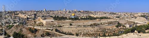 Panorama the old city Jerusalem - 27839569