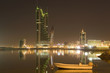 Bahrain cityscape in the night