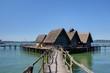 village lacustre sur le lac de constance