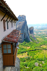 the Meteora - complex of orthodox monasteries in Greece