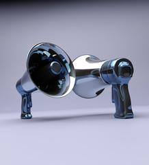 loudspeaker, megaphone