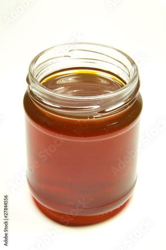 vasetto di miele di castagno