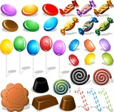 Caramelle e Cioccolatini-Candies and Chocolates-Vector