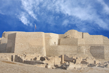 Southern side of Bahrain fort
