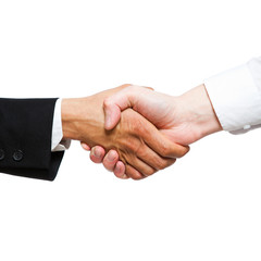 handshake between 2 businessmen