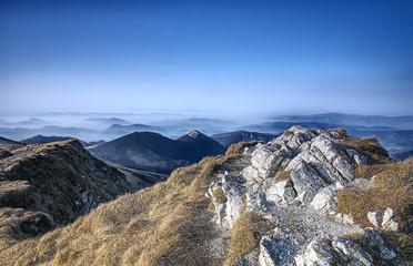 Autumn in Mala Fatra mountains, Slovakia, HDR