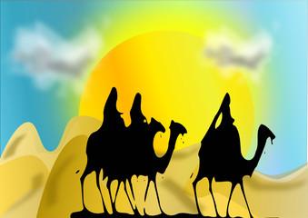 Deserto e cammelli