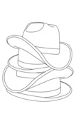 Hat outline