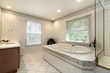 Master bath in remodeled home