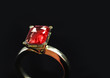 Large Ruby ring