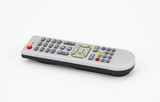Silver remote control electronic device poster