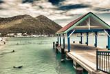 Fototapety Saint Maarten Waterfront, Dutch Antilles
