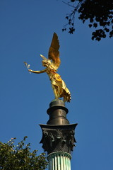Friedensengel Angel of Peace.