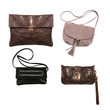 Collection of various types of handbags