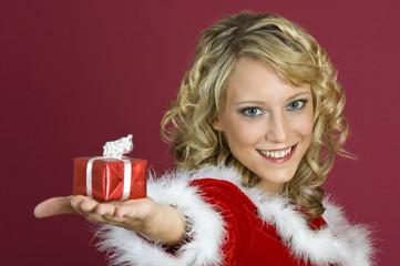 Weihnachtseinkauf.-Geschenke