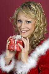 Ich freue mich schon-Weihnachten.