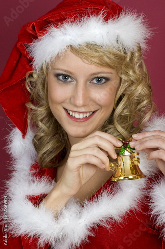 It`s a Santa Claus Women.