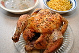 Roast Chicken with Side Dishes