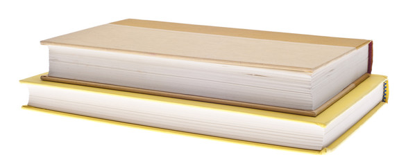 Heap of Yellow Hardcover Books