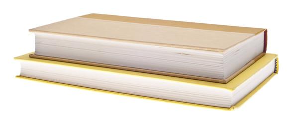 Heap of Yellow Hardcover Books