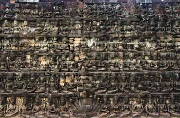 Khmer Angkor Wat Wall