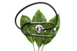 stethoscope on leaves