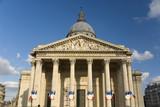 Paris the Mausoleum Pantheon poster