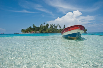Isla, Kuna Yala, San Blas, Panama.