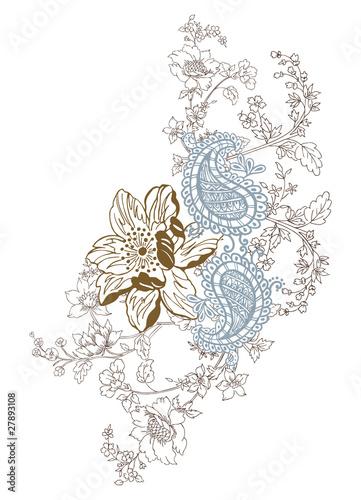 Paisley design