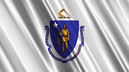 Massachusetts Flag