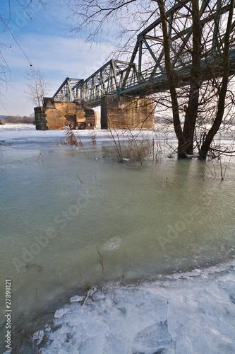 Brücke an der Oder.
